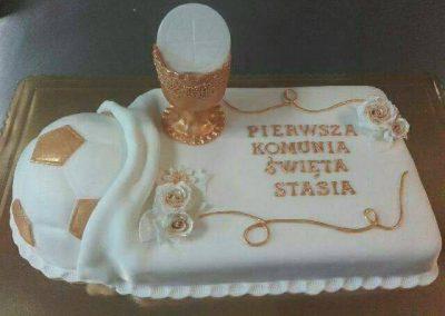 tort chrzest i komunia